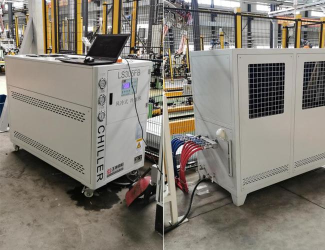吉林大唐使用环谐机械风冷式冷水机组
