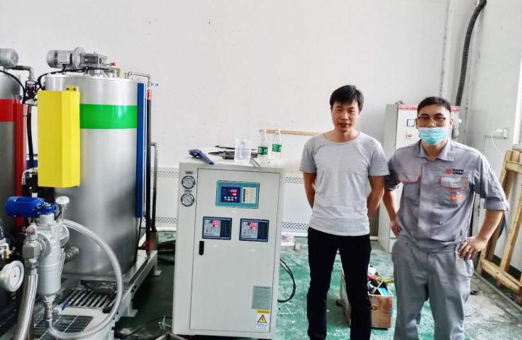 江苏良腾使用环谐冷水机组