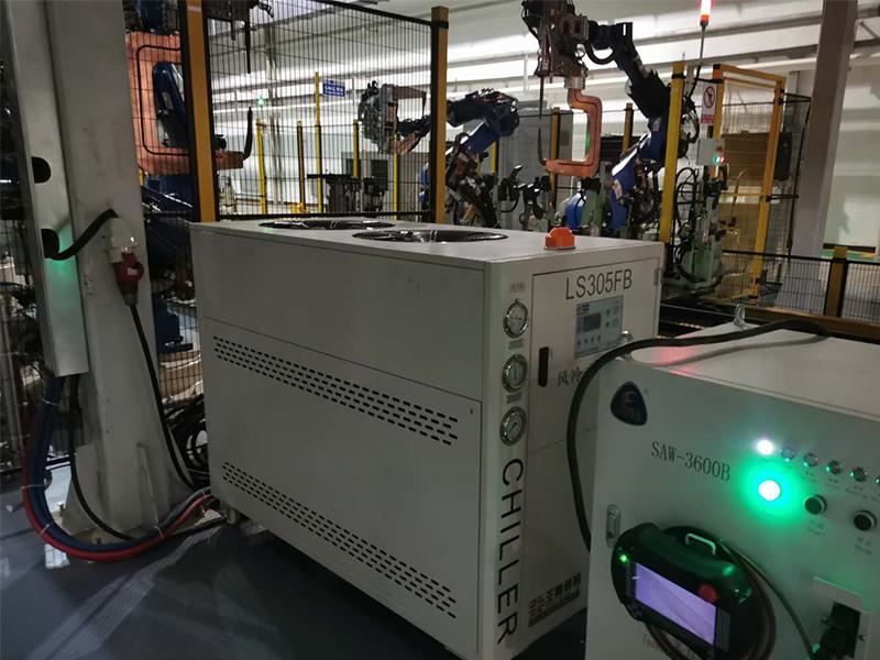 焊接机器人冷水机