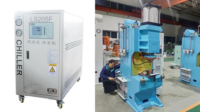 客户买一台我们点焊冷水机和一般冷水机有什么不同?