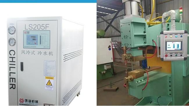 客户问买了环谐机械焊接冷水机怎么日常保养?