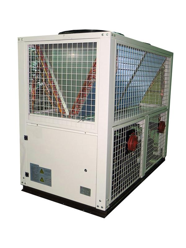 冷水机安装解决方案示意图
