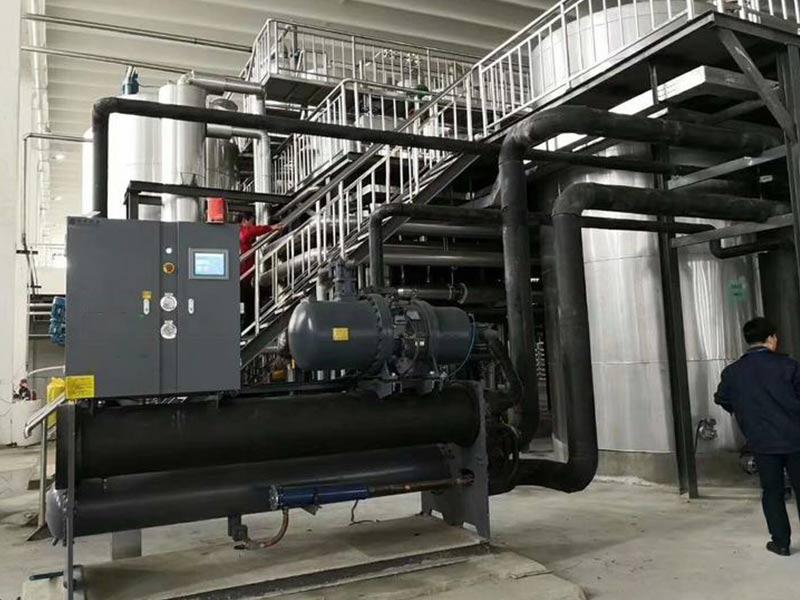 水冷螺杆反应釜冷水机