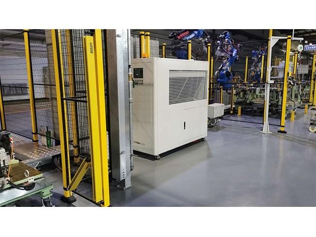 焊接机器人冷水机在汽车自动焊接中如何给焊枪冷却-王牌精机